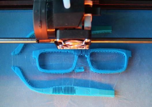 fabrication lunettes 3D