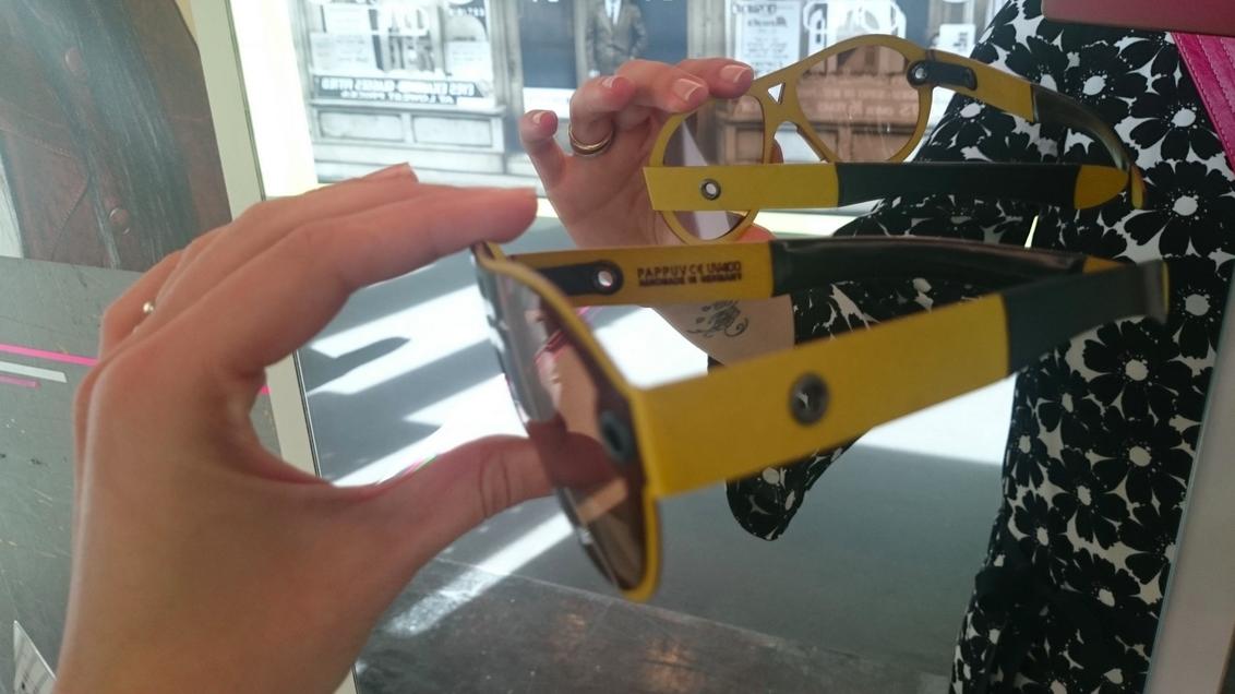 lunettes en carton
