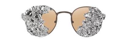 lunettes en aluminium