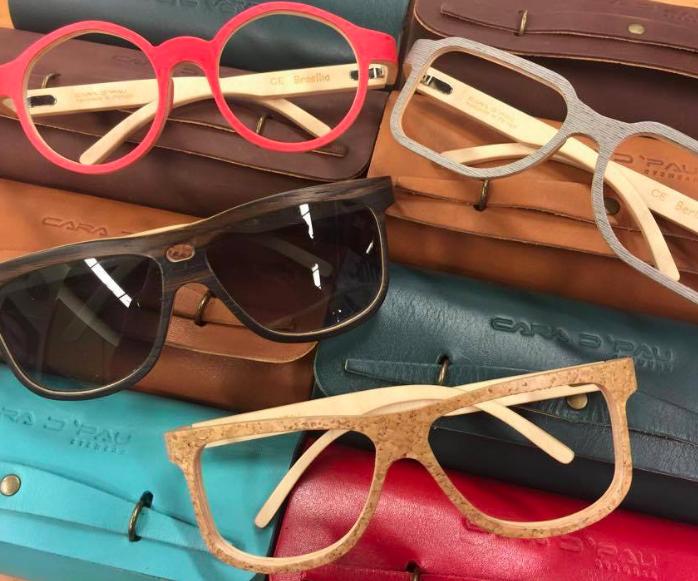 lunettes en liege - lunettes en bois