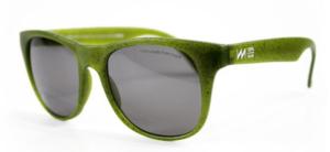 lunettes de soleil en déchet recyclé