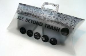 etui à lunettes en dechet recyclé