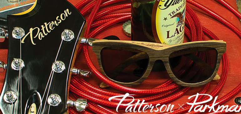 patterson guitar recycled