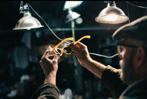 lunettes en vinyle