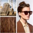 lunettes de soleil en bois