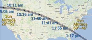 eclipse USA 21 aout 2017