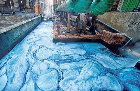 pollution des eaux