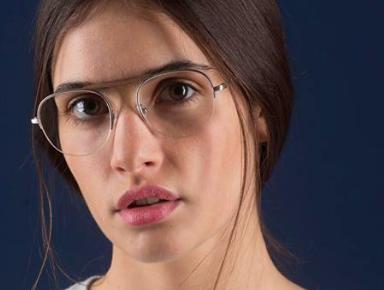 lunettes titane bois double-pont