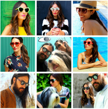 blogger influencers eyewear espagnols