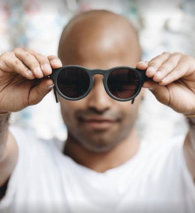 lunettes zero dechet en impression 3D en matiere recyclé