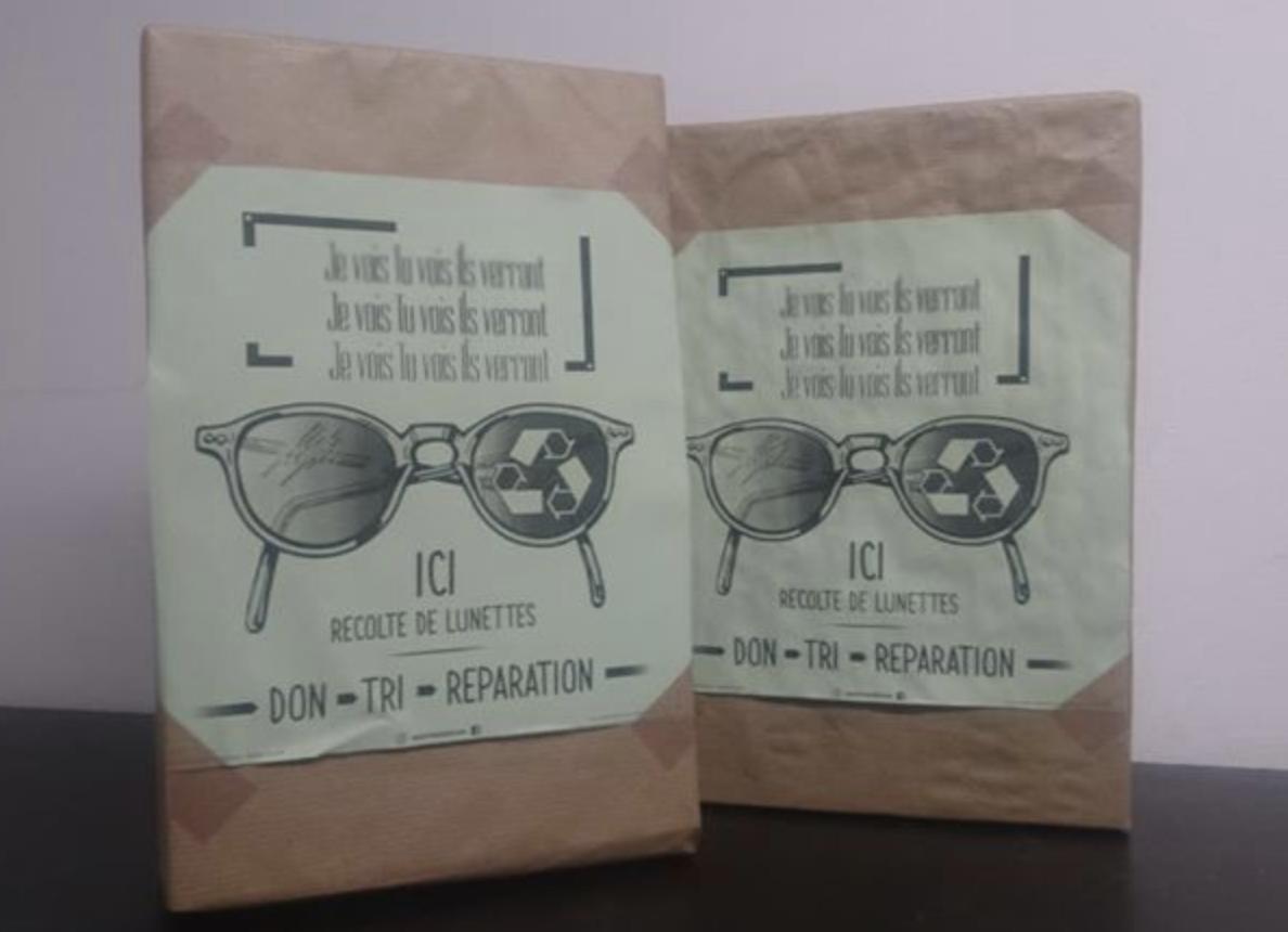 Pays Basque Collecte de lunettes par A portée de vue - opticien à Bidart
