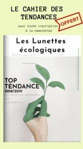 newsletter les lunettes ecologiques