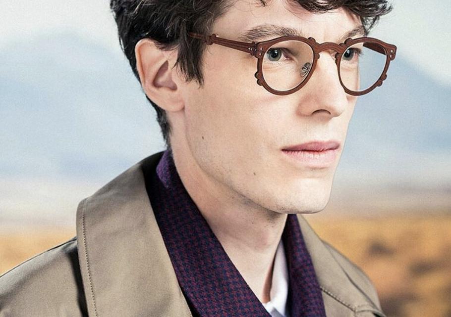 lunettes en cuir
