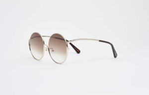 lunettes en métal recyclé