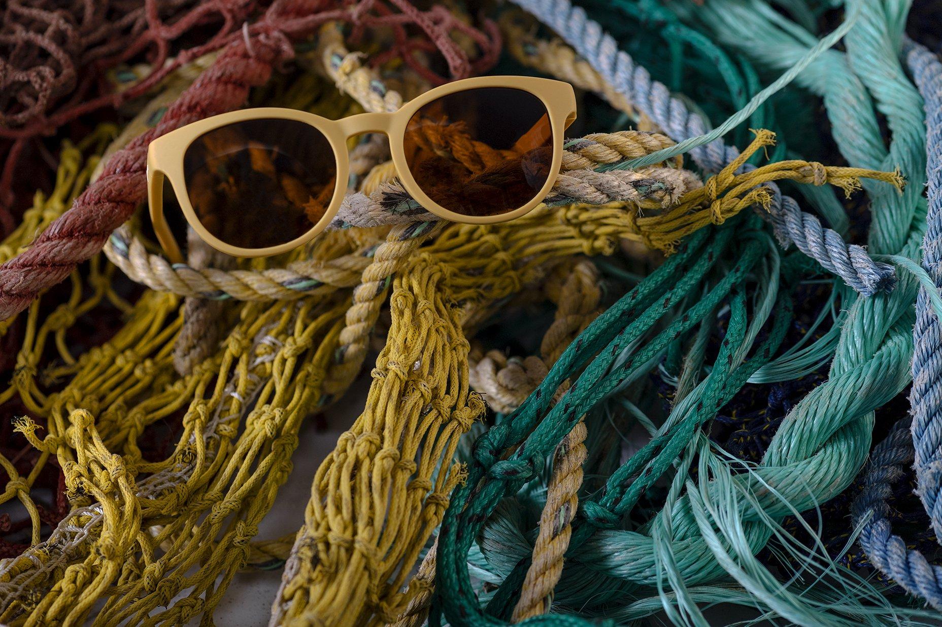 lunettes de soleil recyclés