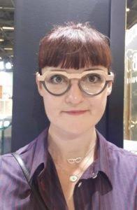 lunettes en pierre et or